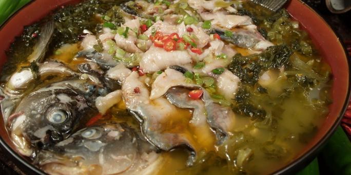 鱼在这酸菜鱼鲜美