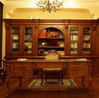 乔金斯整木定制书房