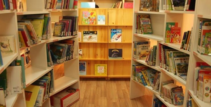 优贝亲子图书馆狭小