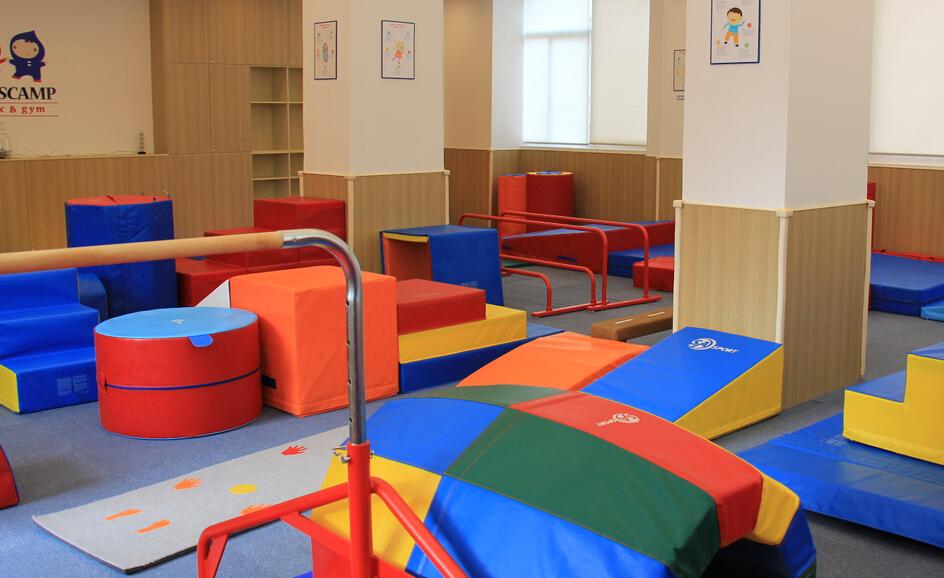 TOTSCAMP美式嬰幼兒育樂中心內部活動