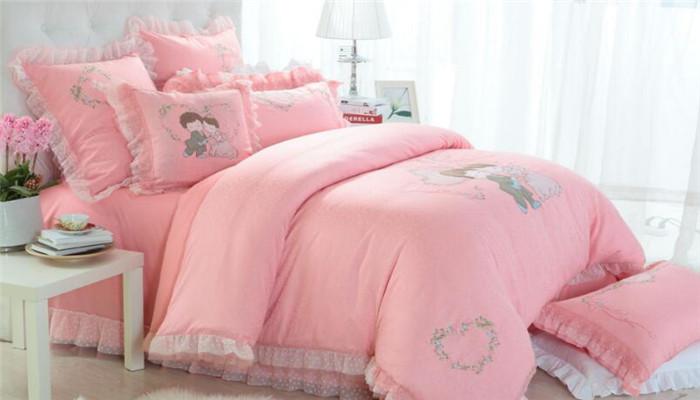 卡芬迪家纺粉色