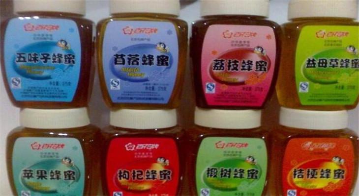 百花蜂產品多品種