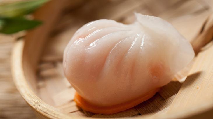 圣河湾虾饺美食水晶