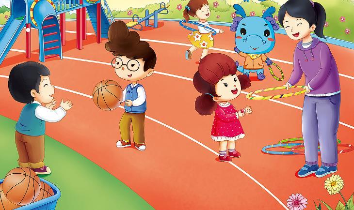 童星幼兒園游玩