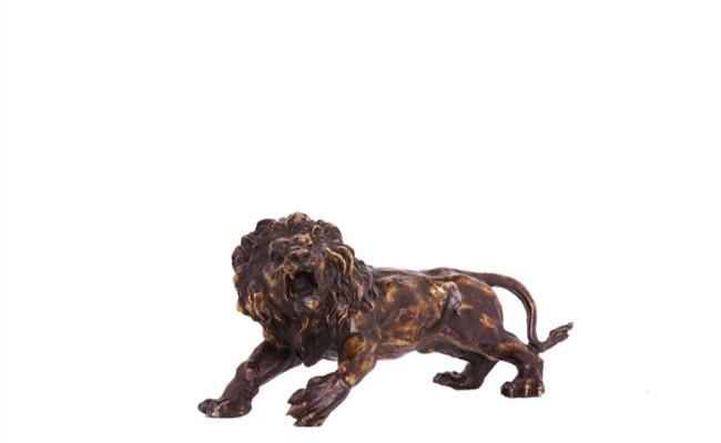 雄獅銅器銅獅子
