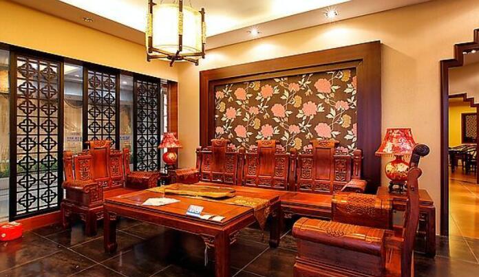 左岸藝術柚木家具側廳