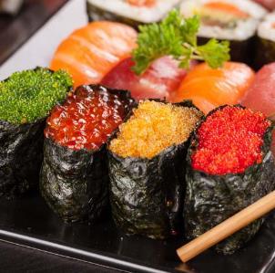 晓寿司鱼子酱