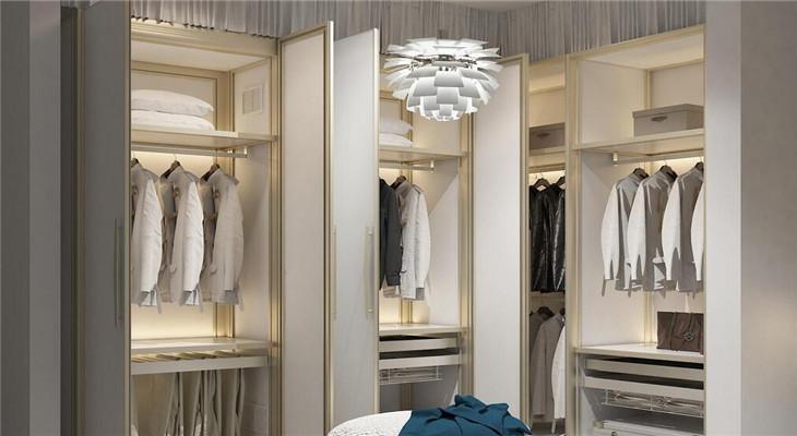 智能衣柜現代