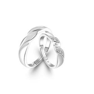 信德缘时尚银饰银戒指