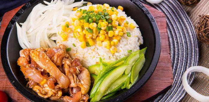 粑巴利韩式快餐