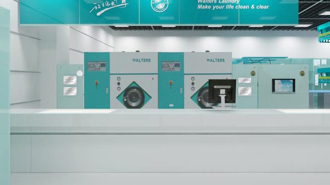 大象洗衣店洗衣設備