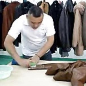 邦納福干洗的清洗皮衣