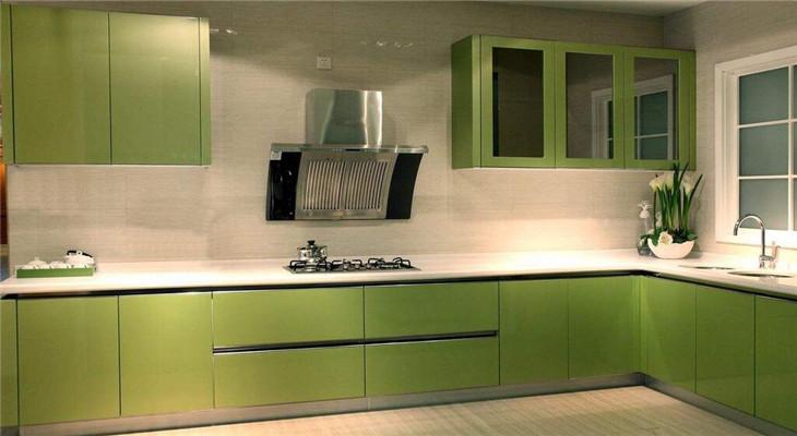 法狮龙厨柜果绿色