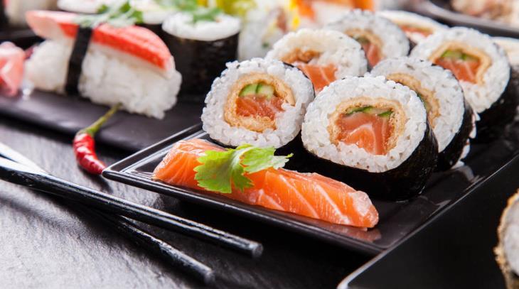 晓寿司三文鱼