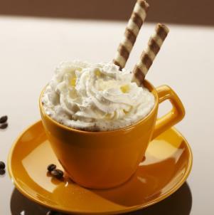 艾蕾咖啡冰淇淋顶