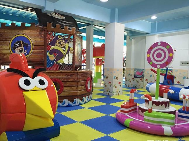 奇乐岛儿童乐园整洁