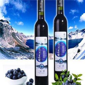 玛丽蓝莓酒雪山