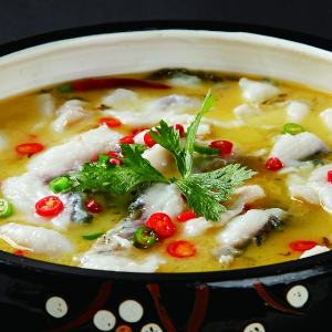 赖子老壇酸菜鱼鱼灸可热