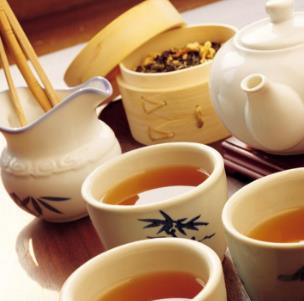 艾米主题茶楼品茶