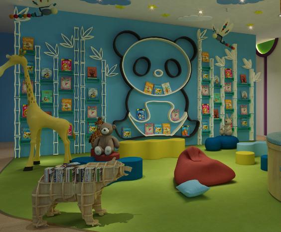 熊小猫少儿英语阅读区