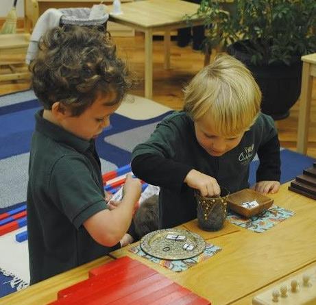蒙特梭利教育儿童早教