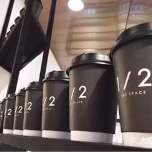 半空間咖啡館打包好的飲料
