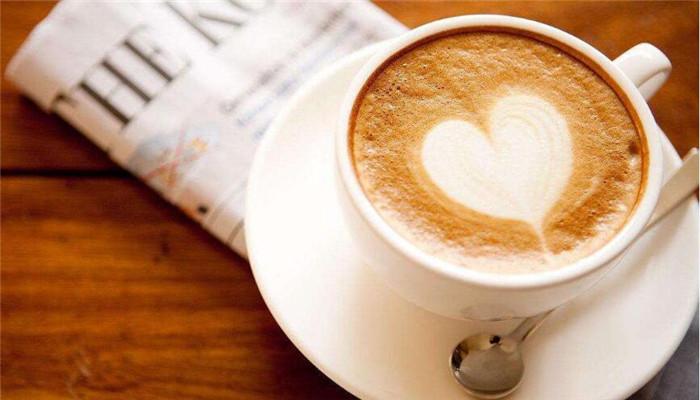 曼喬白咖啡一杯