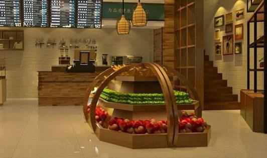 艾沃超级水果店店面设计