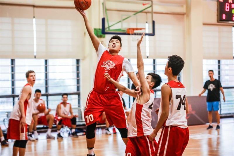 耐克亚洲篮球训练营