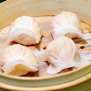 圣河湾虾饺美食蒸饺