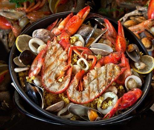 标记海鲜酒家龙虾
