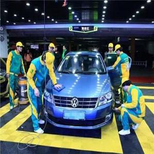 梅特莱斯国际汽车美容连锁机构蓝车子