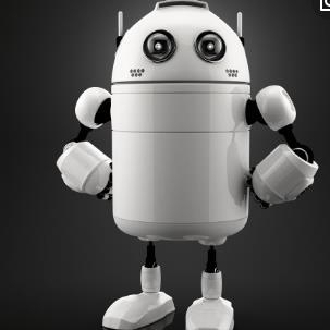 益樂機器人白色