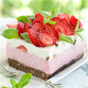 阿比熊西饼甜品店草莓