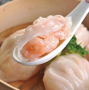 圣河湾虾饺美食虾仁