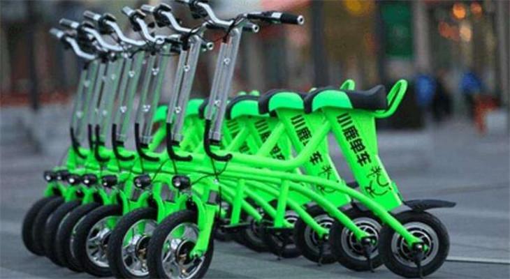 小鹿单车绿色