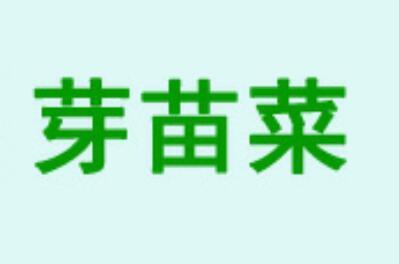四季芽苗菜