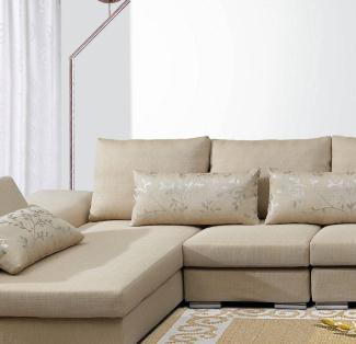 千禧布藝沙發簡單