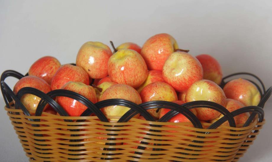 标记水果批发行苹果