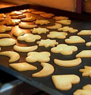 魚珠綠貝烘焙小餅干