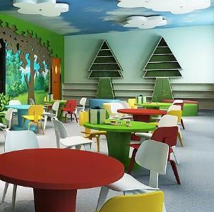 .童星幼兒園桌子