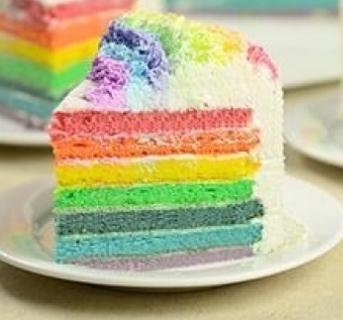 虞美人烘焙工坊彩虹蛋糕