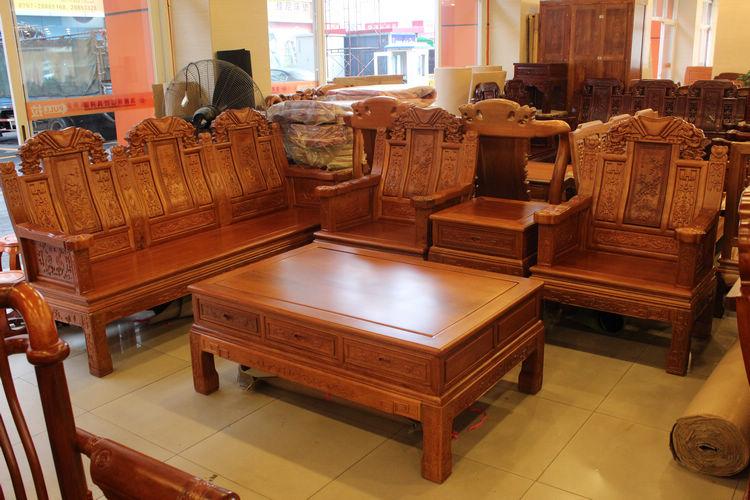 菠蘿格實木家具桌椅