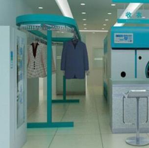 意綠王干洗店衣服