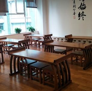 川大國學班書桌