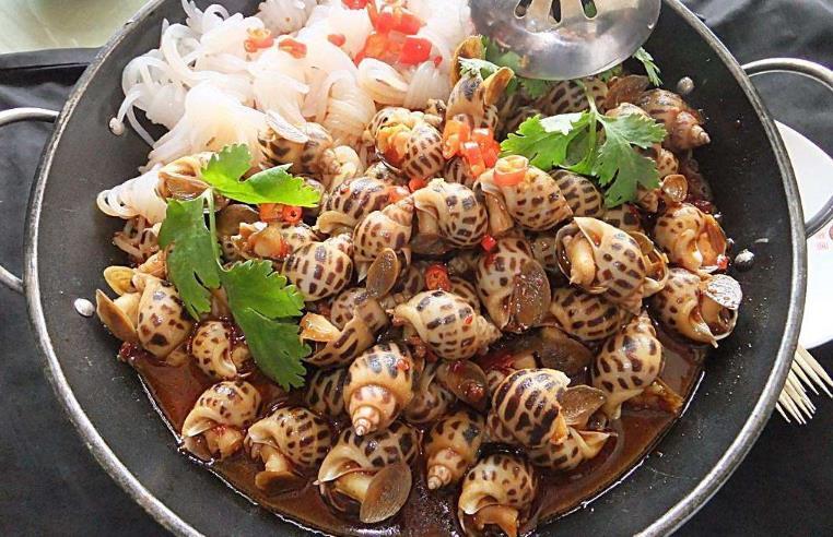 标记海鲜酒家海螺