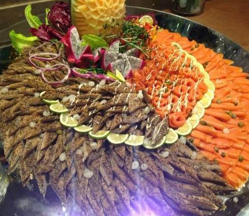 标记海鲜档海鲜大餐