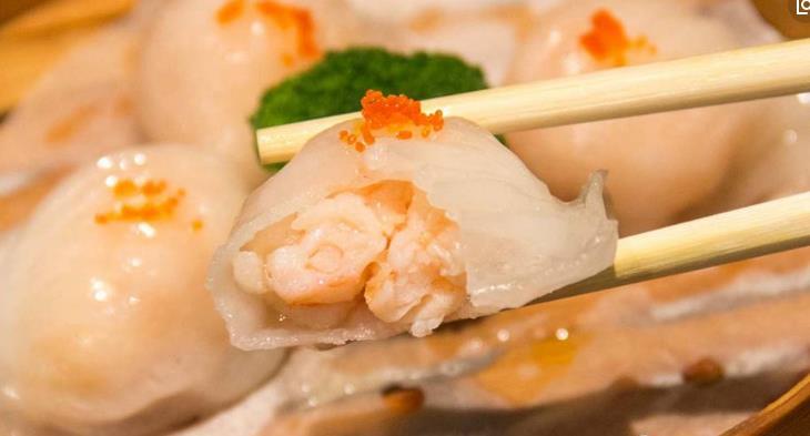 圣河湾虾饺美食虾