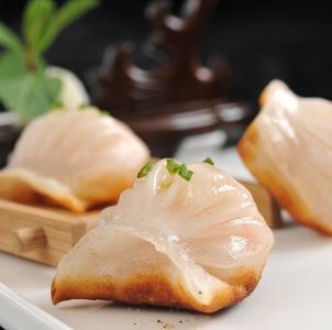 圣河湾虾饺美食油炸