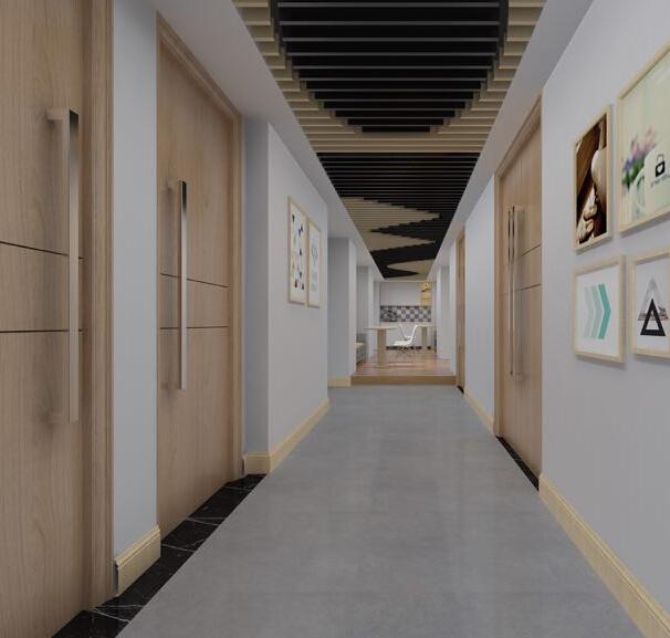 诗美琪产后恢复中心走廊